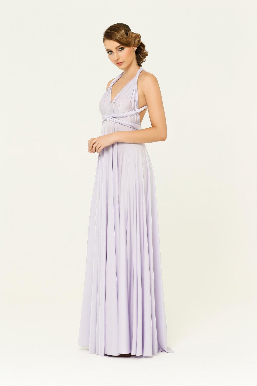 PO31 wrap dress lilac