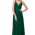 Po31 Wrapdress Emerald Front