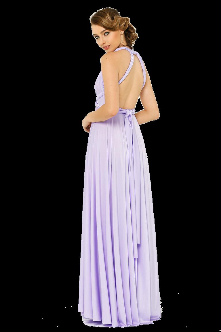 Po31 Wrapdress Lilac Side