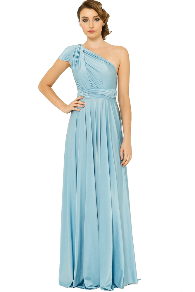 Po31 Wrapdress Powderblue Front