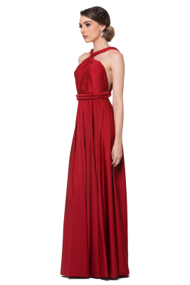 Po31 Wrapdress Red Side