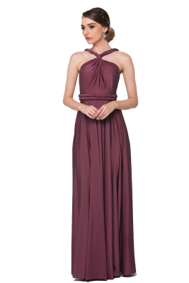 Po31 Wrapdress Tearose Front