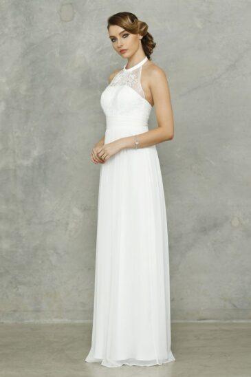 PO33 Harlow Dress Pure White