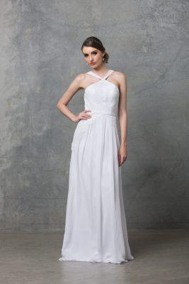Bella debutant dress TO60 Pure white 1