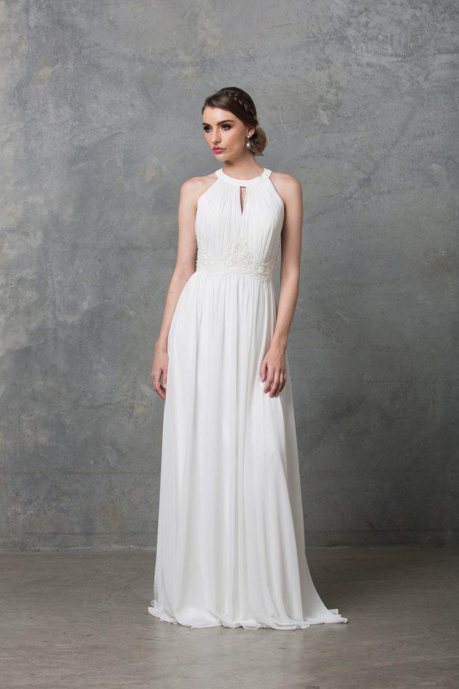 Chiarie Wedding Dress TC229 V White