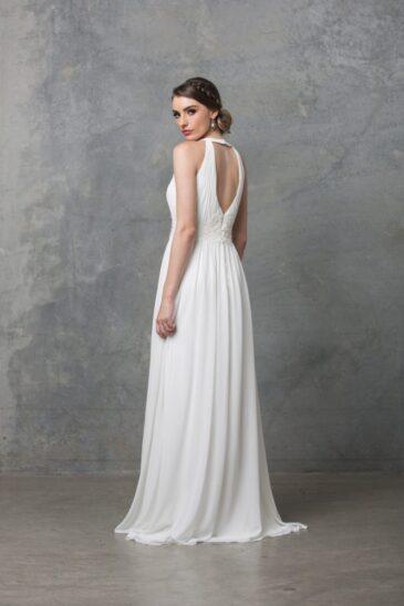 Chiarie Wedding Dress Worn Without Cape TC229 Back