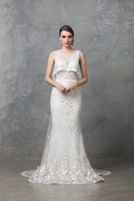 Lilith Wedding Dress TC222 V White