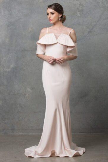 Margot Wedding Dress TC216 Pearl Pink