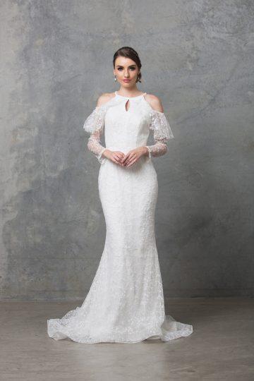 Ophelia wedding dress TC225 V white 1