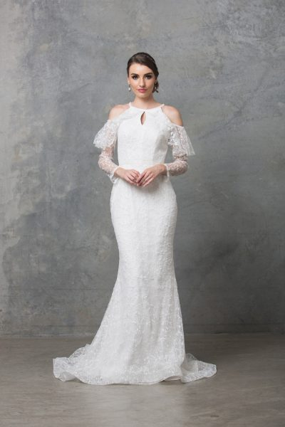 Ophelia wedding dress TC225 V white 1