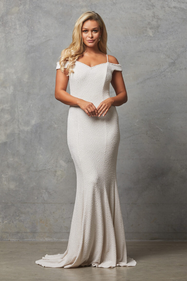 PO590 Ivory Alicia dress