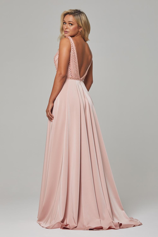 PO592 Blush Addilyn dress back