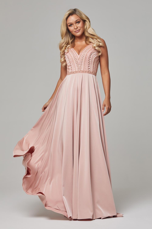 PO592 Rose quartz Addilyn dress