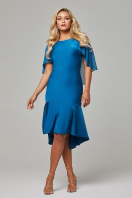 PO92 Teal Evelyn dress