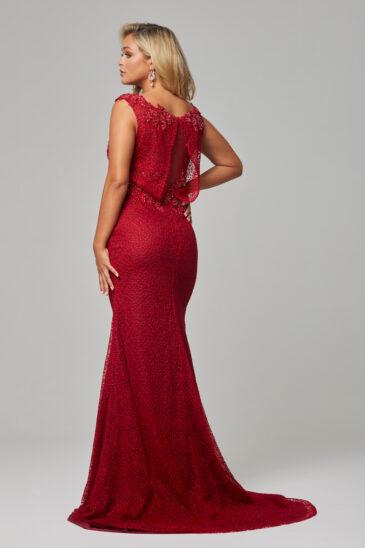TC221 Cerry Danika dress back