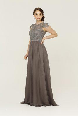 TO16 Latitia dress Charcoal side