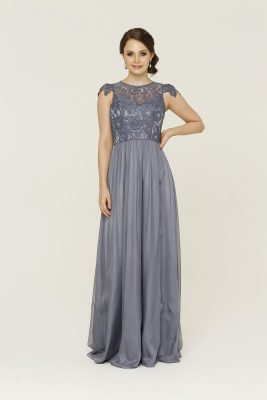 TO16 Latitia dress Dusty blue