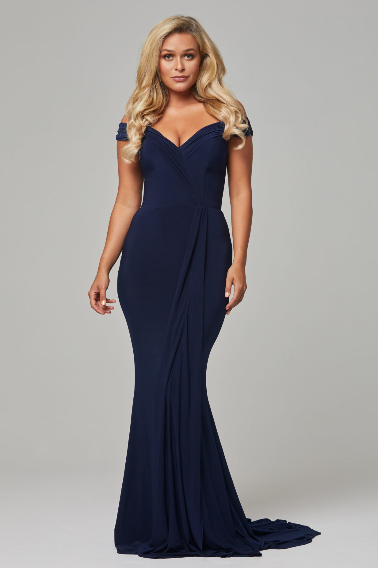 TO779 Navy Malissa dress