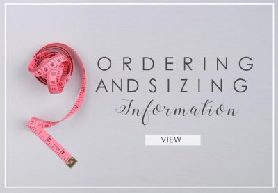 Ordering And Sizing Information 1