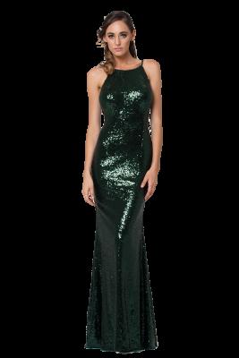 po70s sadie sequin emerald front