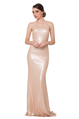 po70s sadie sequin pearl blush front