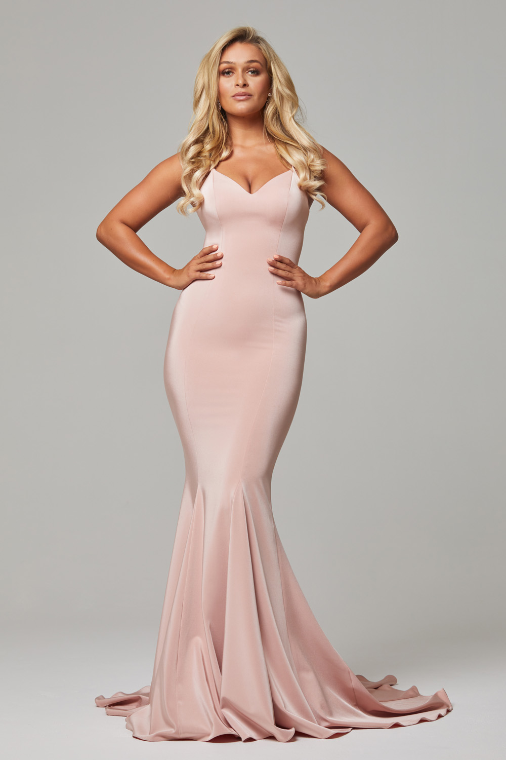 PO593 Blush Bree dress