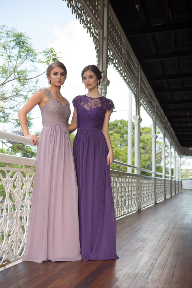 TO57 PHEOBE OYSTER TO37 CAMILLA AUBERGINE FULL LENGTH LOCATION