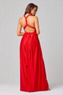 PO31P Petra pantsuit red back