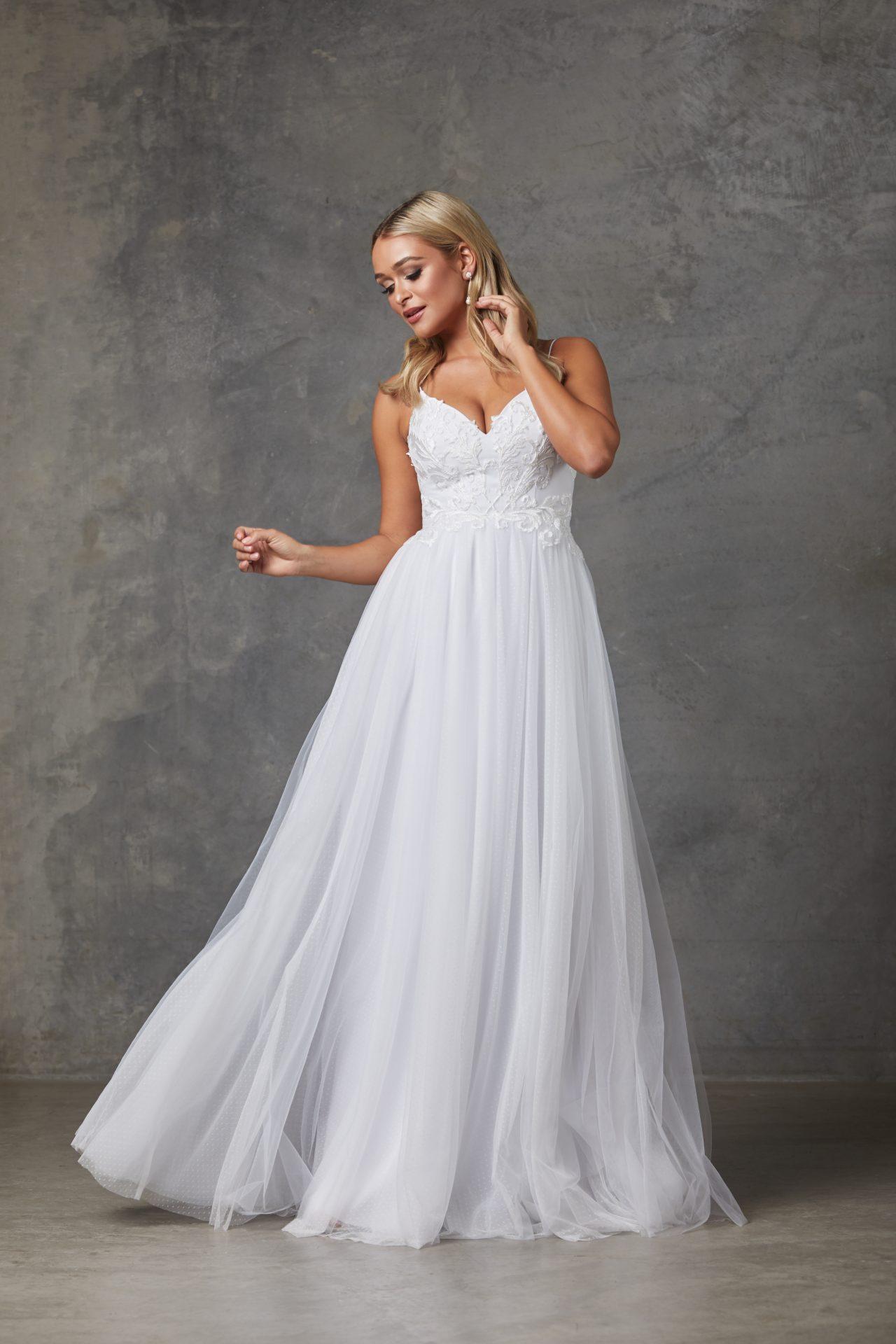 9c5dd4cfde Aubriel - lace - tulle - 2019 Brides Collection - Tania Olsen Couture