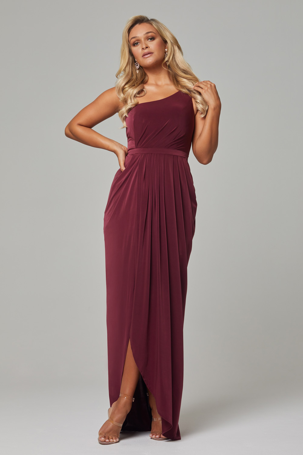 TO800 Wine Eloise dress