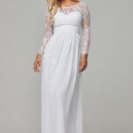 TO802 Pure white Allaris dress