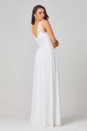 Taliyah Bridesmaid Dress - TO811 Vintage White Side 1 1