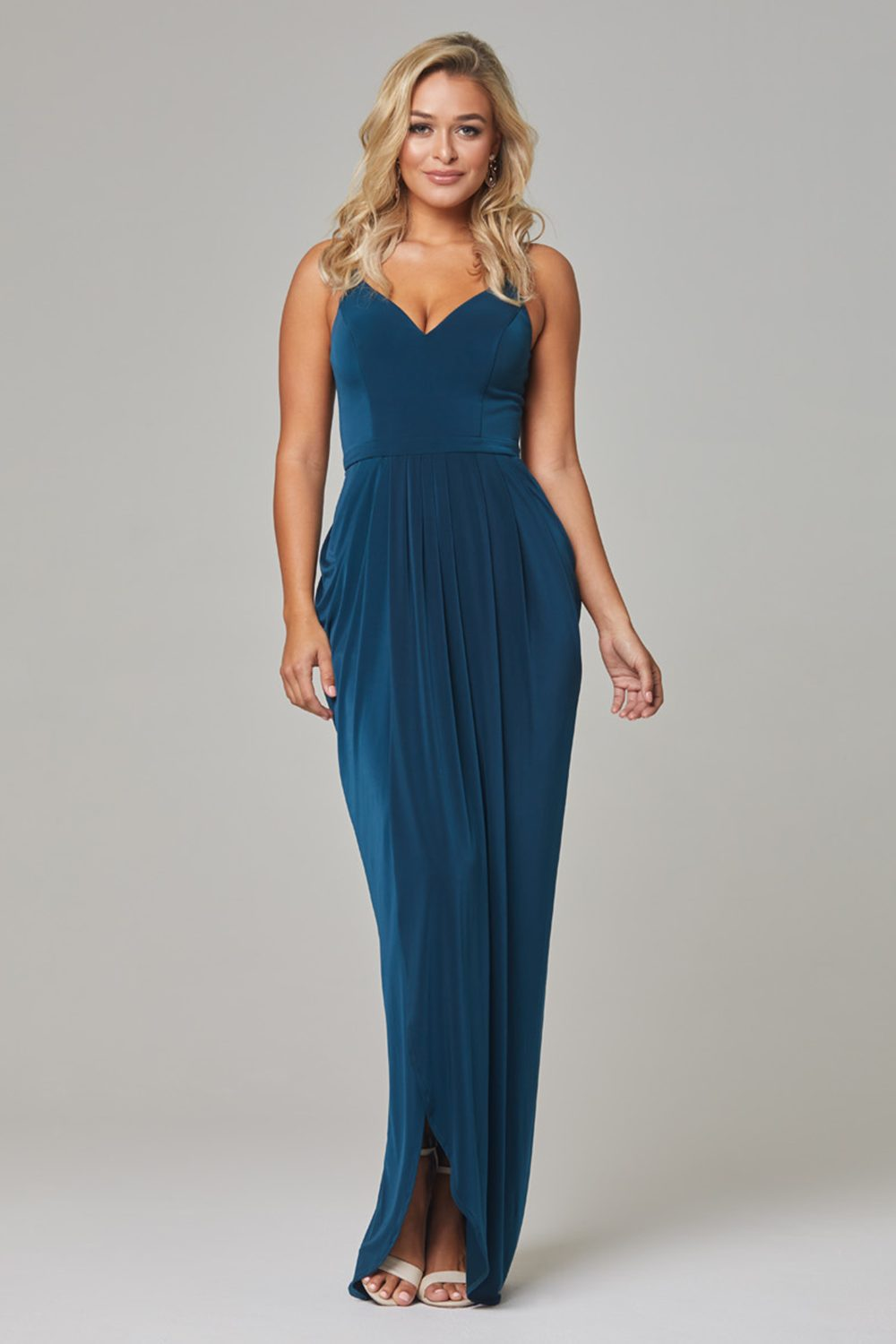 Claire Bridesmaid Dress - TO801 - Teal