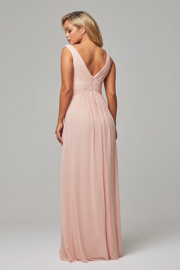 TO74 Blush Amber dress back