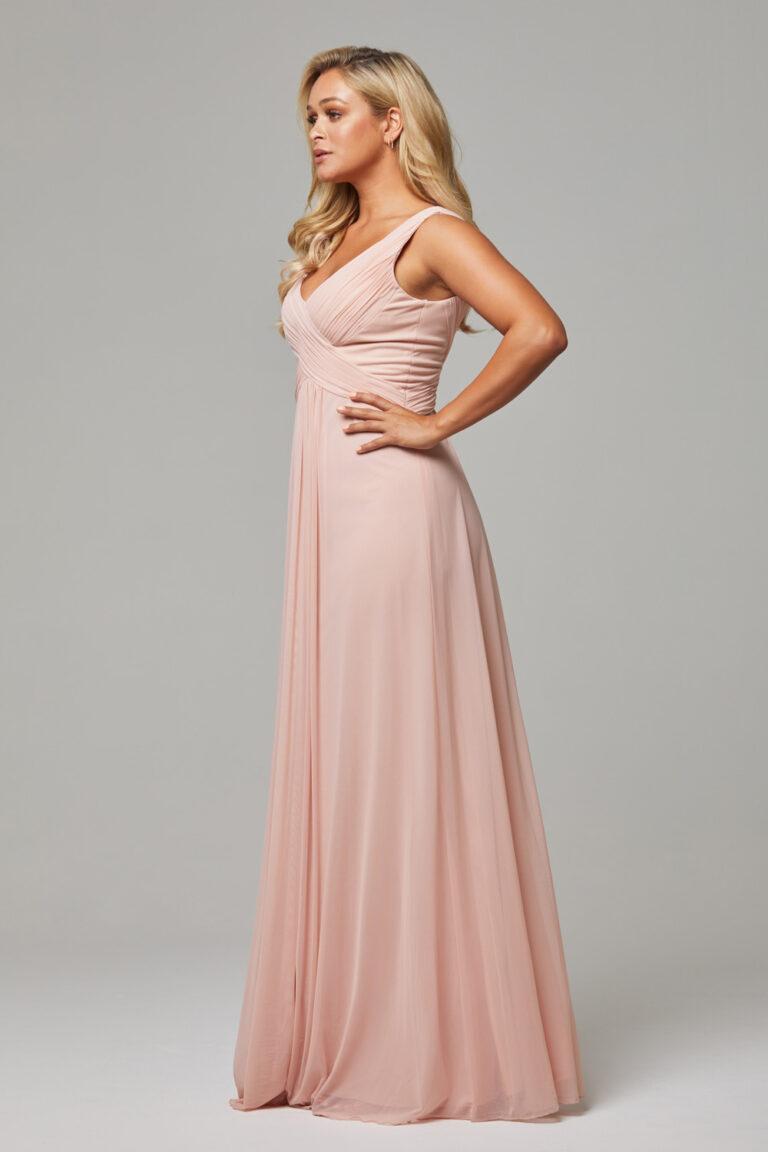 TO74 Blush Amber dress side