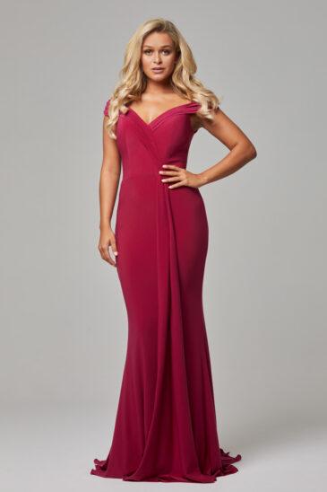 TO779 Berry Malissa dress