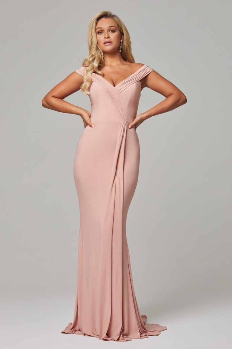 TO779 Blush Malissa dress 1