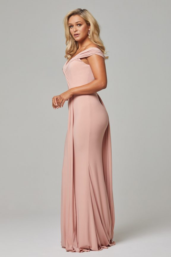 TO779 Blush Malissa dress side 1