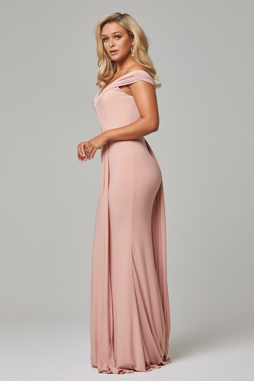 TO779 Blush Malissa dress side 1
