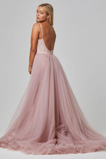TC254 HARMONY BLUSH BACK WITH DETACABLE SKIRT 1