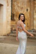 Jasmine Sequin Formal Dress Deux Belettes PO853 4