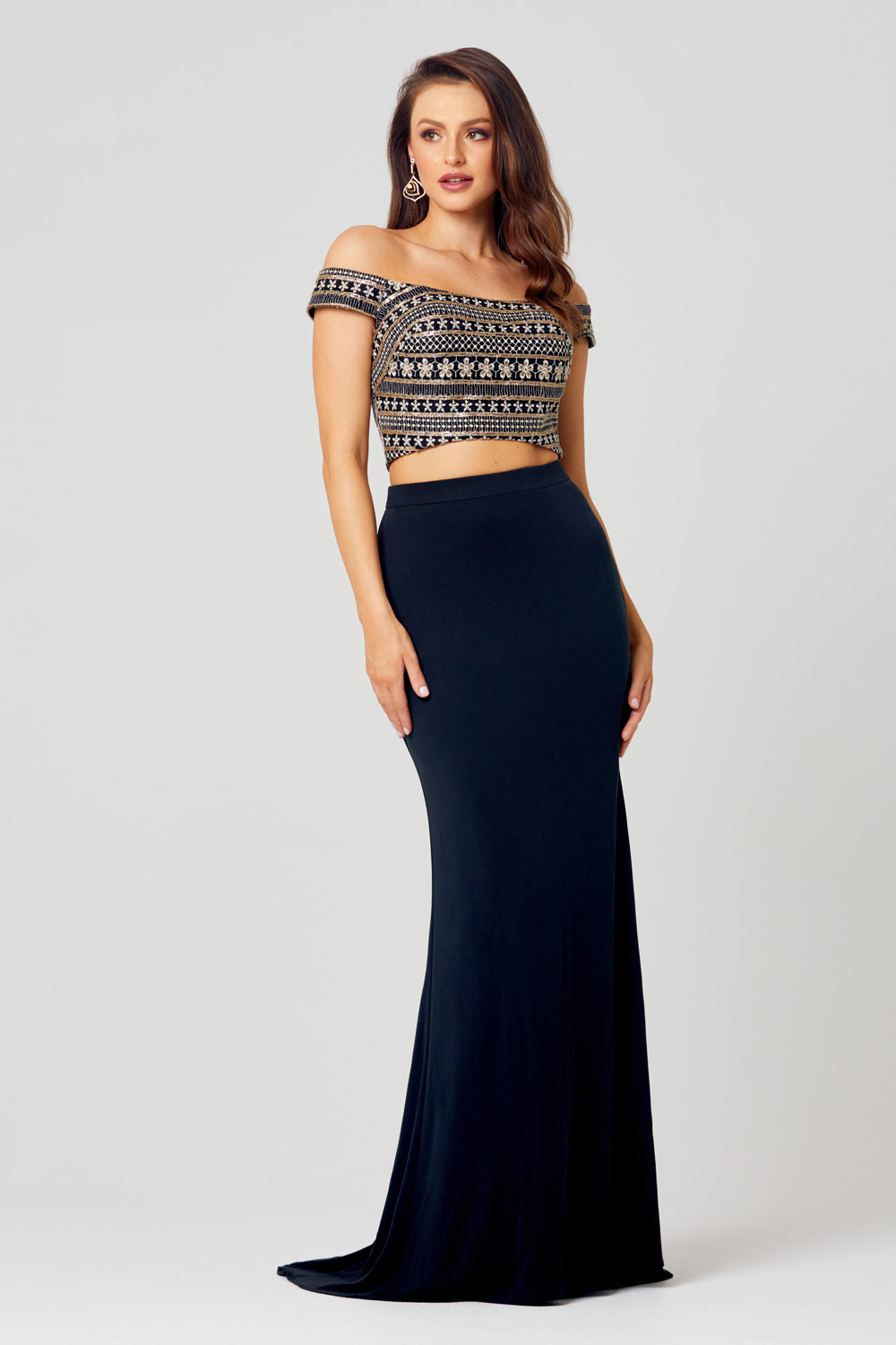Ana Two Piece Formal Dress PO810
