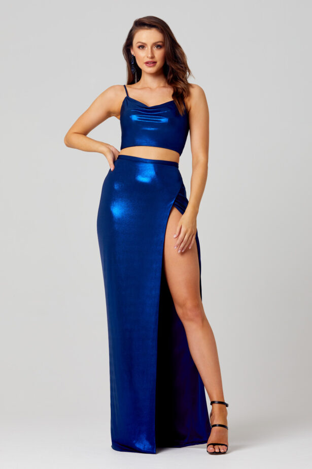 PO827 Sierra formal dress front angle