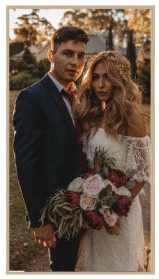 Catalina vintage bohemian wedding dress tania olsen