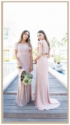 Harper Stella bohemian bridesmaid dresses tania olsen