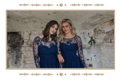 Vallaris long sleeved bohemian bridesmaid dress tania olsen