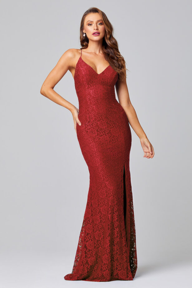India lace red PO816