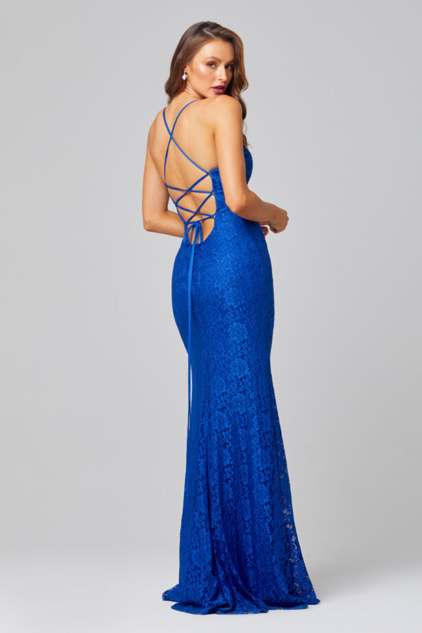 PO816 INDIA LACE COBALT BACK