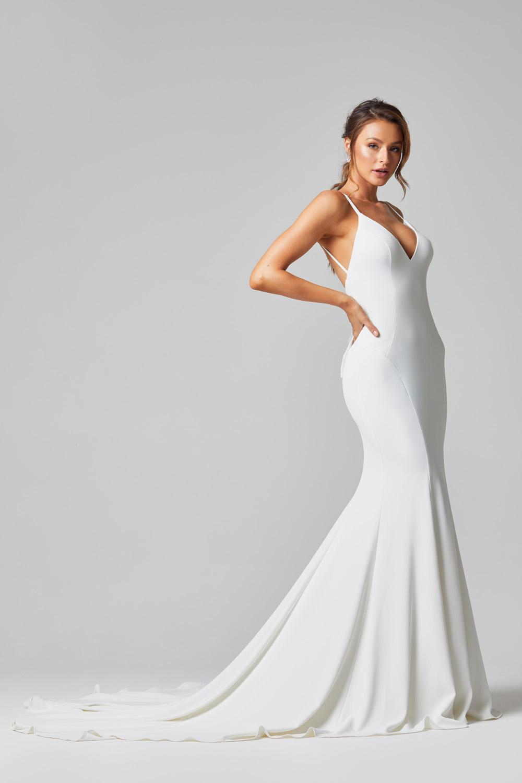 TC320 Alice wedding dress side