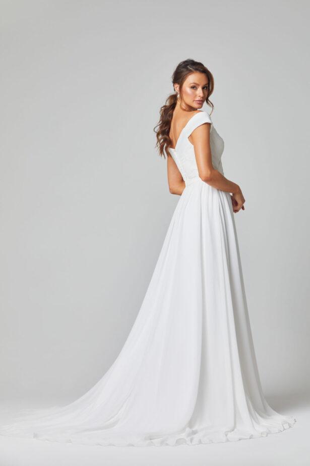 TC323 Annabelle wedding dress back